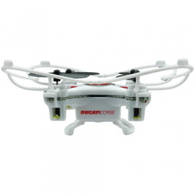 Dromocopter Ducati Corse drone fotocamera Bianco 4 rotori 120 mAh