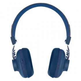 The House Of Marley Positive Vibration 2 Wireless Padiglione auricolare Stereofonico Con cavo e senza cavo Blu auricolare per telefono cellulare