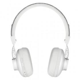 The House Of Marley Positive Vibration 2 Wireless Padiglione auricolare Stereofonico Con cavo e senza cavo Bianco auricolare per telefono cellulare