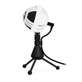 Arozzi Sfera Microfono da tavolo Nero, Bianco