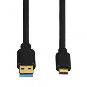 Hama 39135735 0.75m USB C USB A Maschio Maschio Nero cavo USB