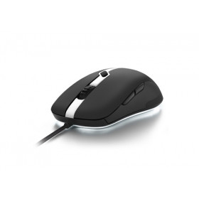 Sharkoon SHARK FORCE PRO mouse USB Ottico 3200 DPI Ambidestro Nero, Bianco