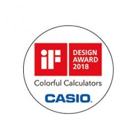 Casio MS-20UC-BU calcolatrice Scrivania Calcolatrice di base Blu