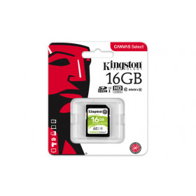 Kingston Technology Canvas Select memoria flash 16 GB SDHC Classe 10 UHS-I