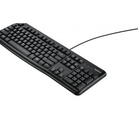 Logitech Keyboard K120 for Business tastiera USB QWERTY US International Nero