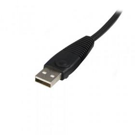 StarTech.com Cavo per commuttatore KVM 2 in 1 VGA e USB - Cavo Switch KVM per USB e VGA da 1,8m