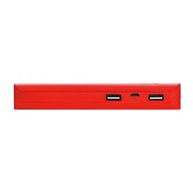 Trust Primo 10000 mAh batteria portatile Rosso Ioni di Litio