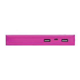 Trust Primo 10000 mAh Ioni di Litio Rosa batteria portatile