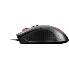 MSI Clutch GM10 mouse USB Ottico 2400 DPI Mano destra Nero