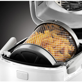 Russell Hobbs 22101-56 friggitrice Hot air fryer Singolo Nero, Bianco Indipendente 1300 W