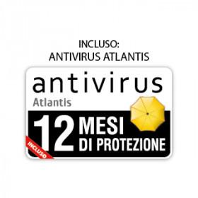 Atlantis Land P009-X810 mouse USB Ottico 7000 DPI Mano destra