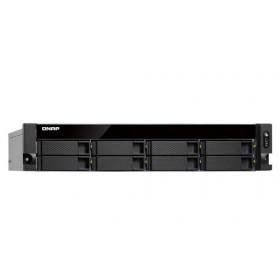 QNAP TS-863XU Collegamento ethernet LAN Armadio (2U) Nero NAS