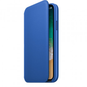 Apple MRGE2ZM custodia per cellulare Custodia a libro Blu