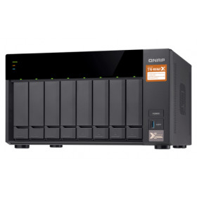 QNAP TS-832X Collegamento ethernet LAN Torre Nero NAS