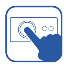 Haier HCE379R congelatore Libera installazione A pozzo Bianco 379 L A+