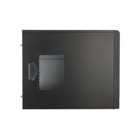 Cooler Master MasterBox E300L vane portacomputer Mini-Tower Nero, Rosso