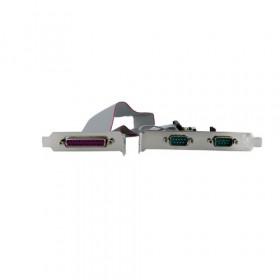 StarTech.com Scheda combo seriale/parallela PCI Express nativa 2S1P con 16550 UART