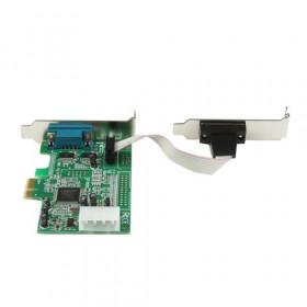 StarTech.com Scheda PCI Express seriale nativa basso profilo a 2 porte RS-232 con 16550 UART