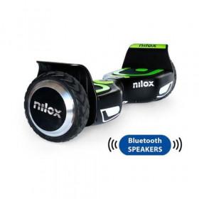 Nilox 30NXBK65BWN01 hoverboard 10 km/h Nero, Verde 4300 mAh