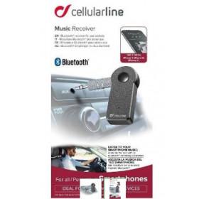 Cellularline 39703 ricevitore audio bluetooth Nero