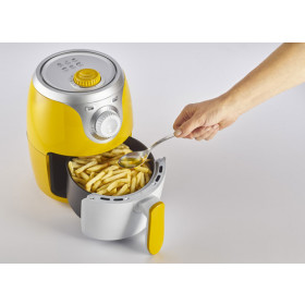 Ariete Airy fryer mini Hot air fryer 2 L Singolo Argento, Giallo Indipendente 1000 W