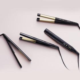 BaByliss ST430E messa in piega Piastra per capelli Caldo Nero, Oro
