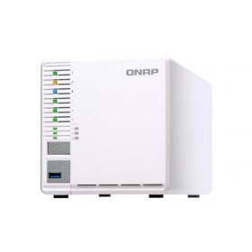 QNAP TS-332X Collegamento ethernet LAN Torre Grigio, Bianco NAS