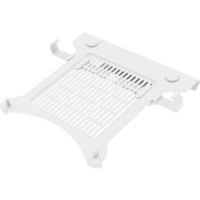 Vision VFM-DA3SHELFW supporto per notebook Braccio per computer portatile e monitor Bianco
