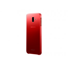 GRADATION COVER RED GALAXY J6+