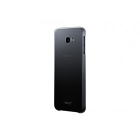 GRADATION COVER BLACK GALAXY J4+