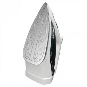 Imetec ZeroCalc Z1 2500 Ferro da stiro a secco e a vapore Acciaio inossidabile Colore foglia di tè, Bianco 2200 W