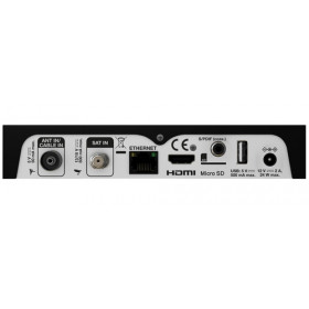 Strong SRT 2402 set-top box TV Cavo, Ethernet (RJ-45), IPTV, Satellite Full HD Nero