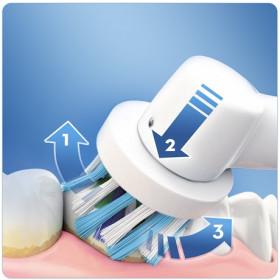 Oral-B Smart 4 4100S Adulto Spazzolino rotante-oscillante Bianco