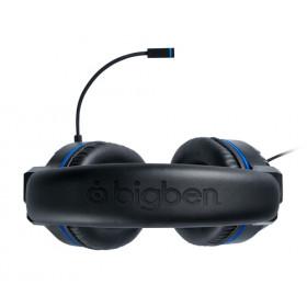 Bigben Interactive PS4OFHEADSETV3 auricolare Stereofonico Padiglione auricolare Nero, Blu