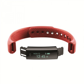 ACME ACT101R Armband activity tracker Rosso OLED 2,18 cm (0.86