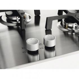 Electrolux EGS6434X piano cottura Acciaio inossidabile Incorporato Gas 4 Fornello(i)