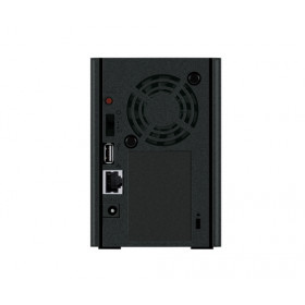 Buffalo LinkStation 220DR Collegamento ethernet LAN Scrivania Nero NAS