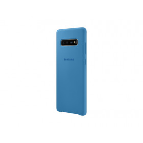 SILICONE COVER BLUE GALAXY S10+