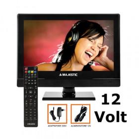 New Majestic DVX-2154D S2 LED MP10 TV 39,6 cm (15.6