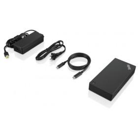 Lenovo 40AS0090EU replicatore di porte e docking station per notebook Cablato USB 3.0 (3.1 Gen 1) Type-C Nero