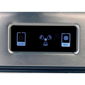 RGV Mojito Ice FG12D 150 W Portable ice cube maker 12 kg/24h Nero, Acciaio inossidabile