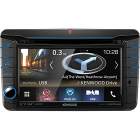 Kenwood DNX518VDABS Ricevitore multimediale per auto Nero 200 W Bluetooth