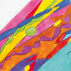 Primo 525MINAB144 pastello colorato 144 pezzo(i) Multicolore