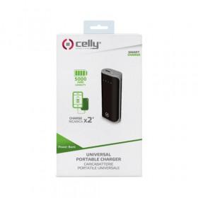 Celly PBD5000BK batteria portatile Nero Ioni di Litio 5000 mAh