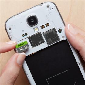 PNY P-SDU16GU185GW-GE memoria flash 16 GB MicroSDHC Classe 10 UHS-I