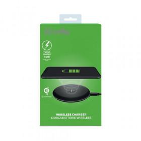 Celly WLFASTFEELBK Caricabatterie per dispositivi mobili Interno Nero