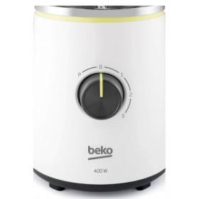 Beko TBN7400W frullatore 1,5 L Frullatore da tavolo Nero, Trasparente, Bianco 400 W