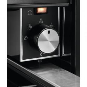 AEG KDE911424B cassetti e armadi riscaldati Nero, Acciaio inossidabile
