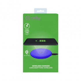 Celly WLFASTFEELBL Caricabatterie per dispositivi mobili Blu Interno