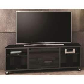 Munari MT150NENE supporto TV e sistema audio 6 ripiani